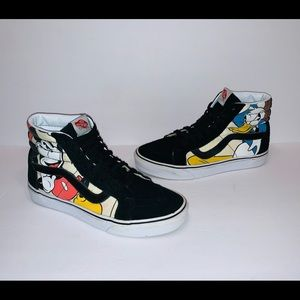 Vans Disney Graphic High Top Shoes